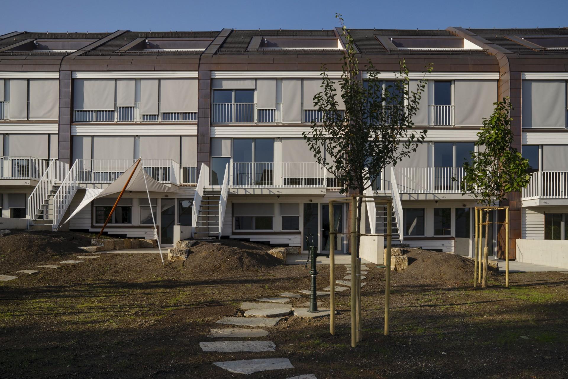 Terraced Houses in Stuttgart