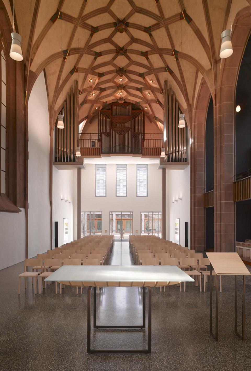 Sanierung der Hospitalkirche Stuttgart